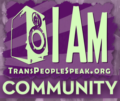 I AM Transpeoplespeak.org community logo