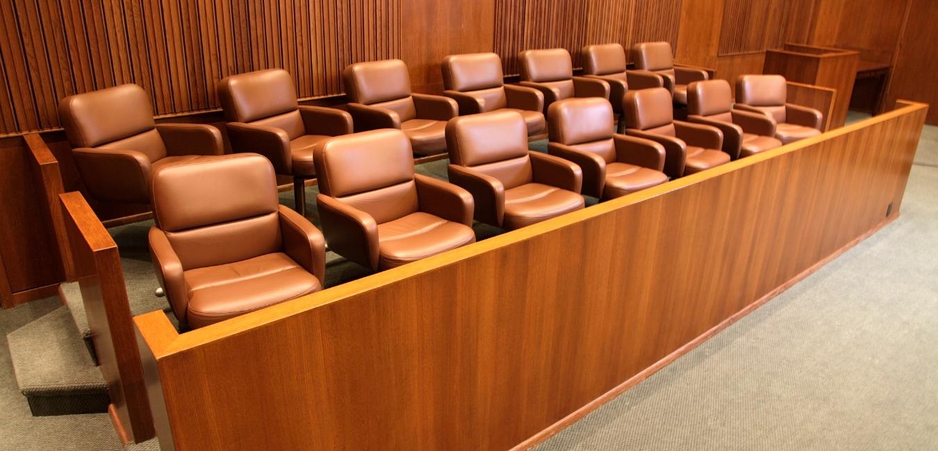 Empty Jury Chairs
